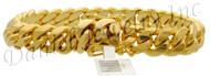 11mm Miami Cuban Link 18k Bracelet