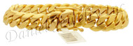12mm Miami Cuban Link 18k Bracelet