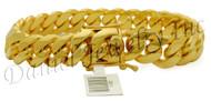 13mm Miami Cuban Link 14k Bracelet
