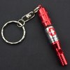 Keychain Whistle with Pill Case