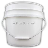 3.5 Gallon White Bucket - No Lid