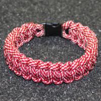 Paracord Bracelet - Candy Cane