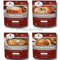 4 Pack of Wise Foods Outdoor Meals