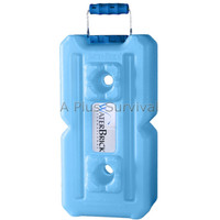 3.5 Gallon Water Brick - Blue