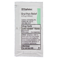Oral Pain Relief Gel Packets