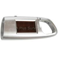 Keychain Solar Powered Flashlight