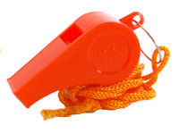 1200 Plastic Whistles