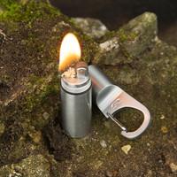 Fire Stash Keychain Carabiner Lighter