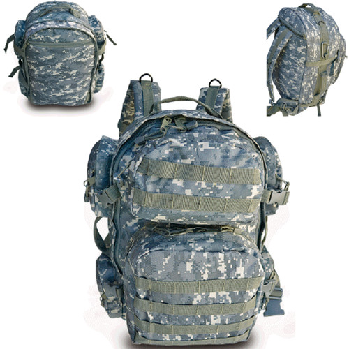 Tactical Backpack - ACU Digital Camo