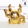 Pokemon Pinsir Gold Metal Figure Bandai