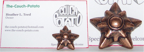 Pokemon Staryu Copper Metal Figure Bandai