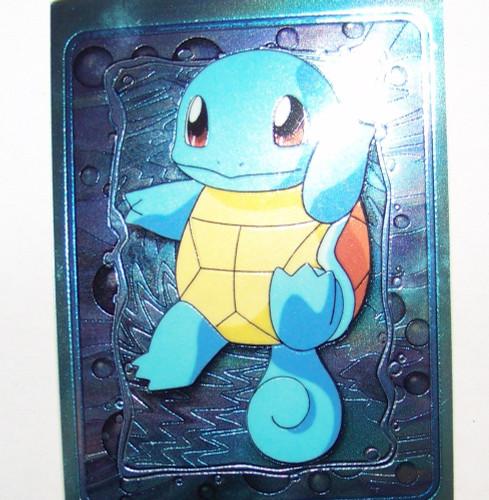 Pokemon Squirtle Large Promo Card Top Loader Foil