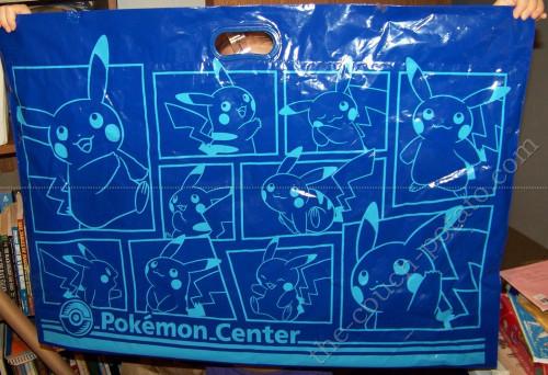 Pokemon Pikachu Pokemon Center Plastic Bag X-Large