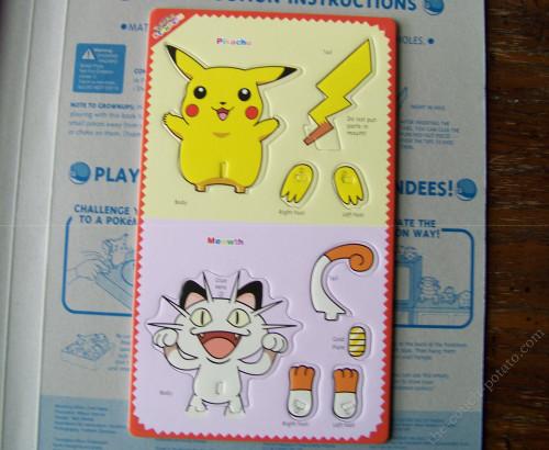 Pokemon Meowth Pikachu Standees Foam Figure Viz