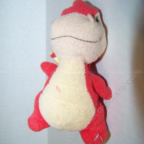 Neopets Scorchio red Plush McDonalds stuffed toy