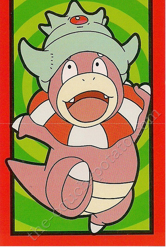 Pokemon Slowking Valentines Day Card
