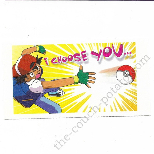 Pokemon Ash Ketchum Valentines Day Card