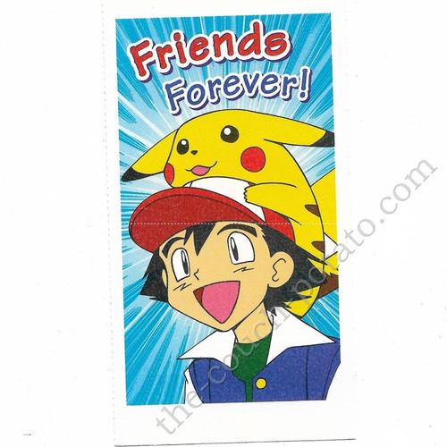 Pokemon Ash Ketchum Pikachu Valentines Day Card