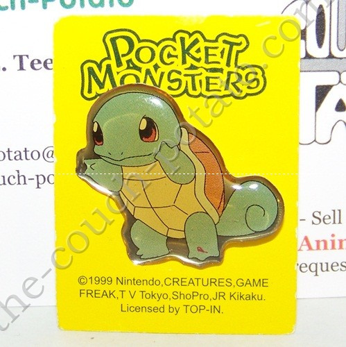 Pokemon Squirtle Pin Top In