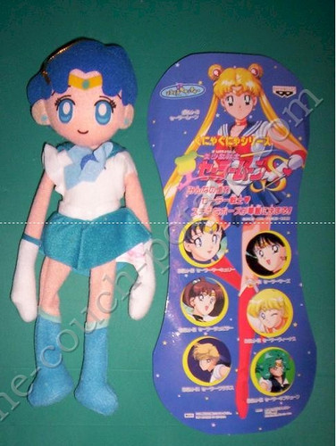 Sailor Moon Sailor Mercury Posable Plush Banpresto