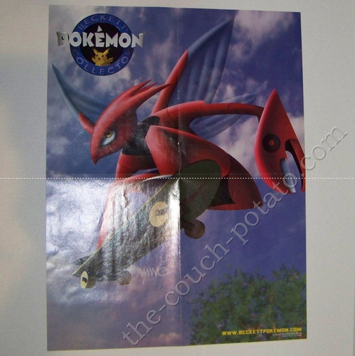 Pokemon Scizor Poster Beckett