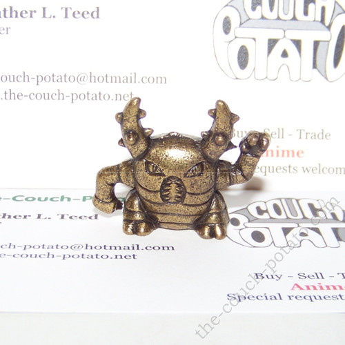 Pokemon Pinsir Bronze Metal Figure Bandai