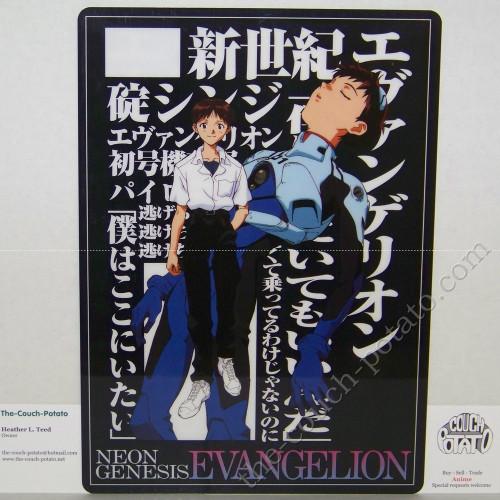 Neon Genesis Evangelion Pencil Board Shitajiki Movic