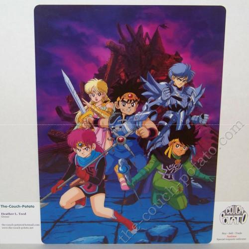 Dragon Quest Pencil Board Shitajiki Animetopia