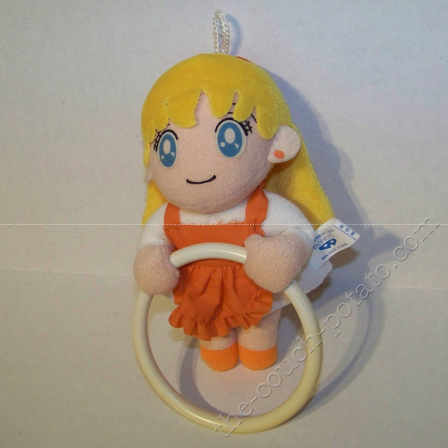 Sailor Moon Sailor Venus Mina Minako with ring Plush Banpresto