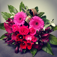 MAGENTA MEADOWS BOUQUET