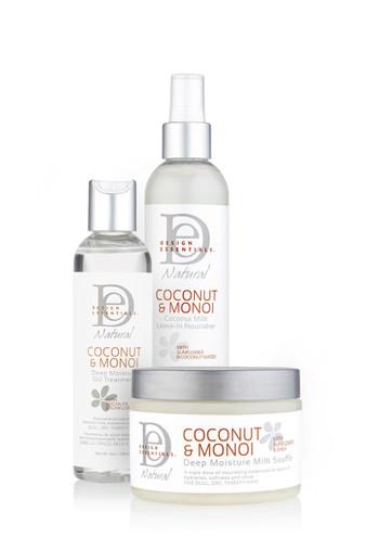 Design Essentials LOC Method- Coconut & Monoi