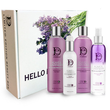 Agave & Lavender Blow Dry and Silk Press Beauty Box