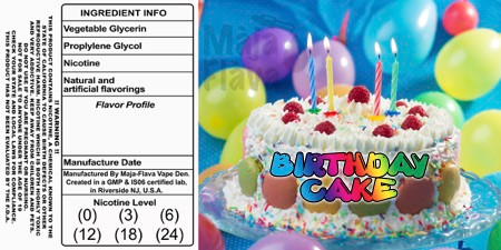 Vanilla Birthday Confetti Cake!