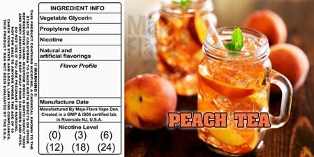 Sweet Southern Peach Iced Tea!