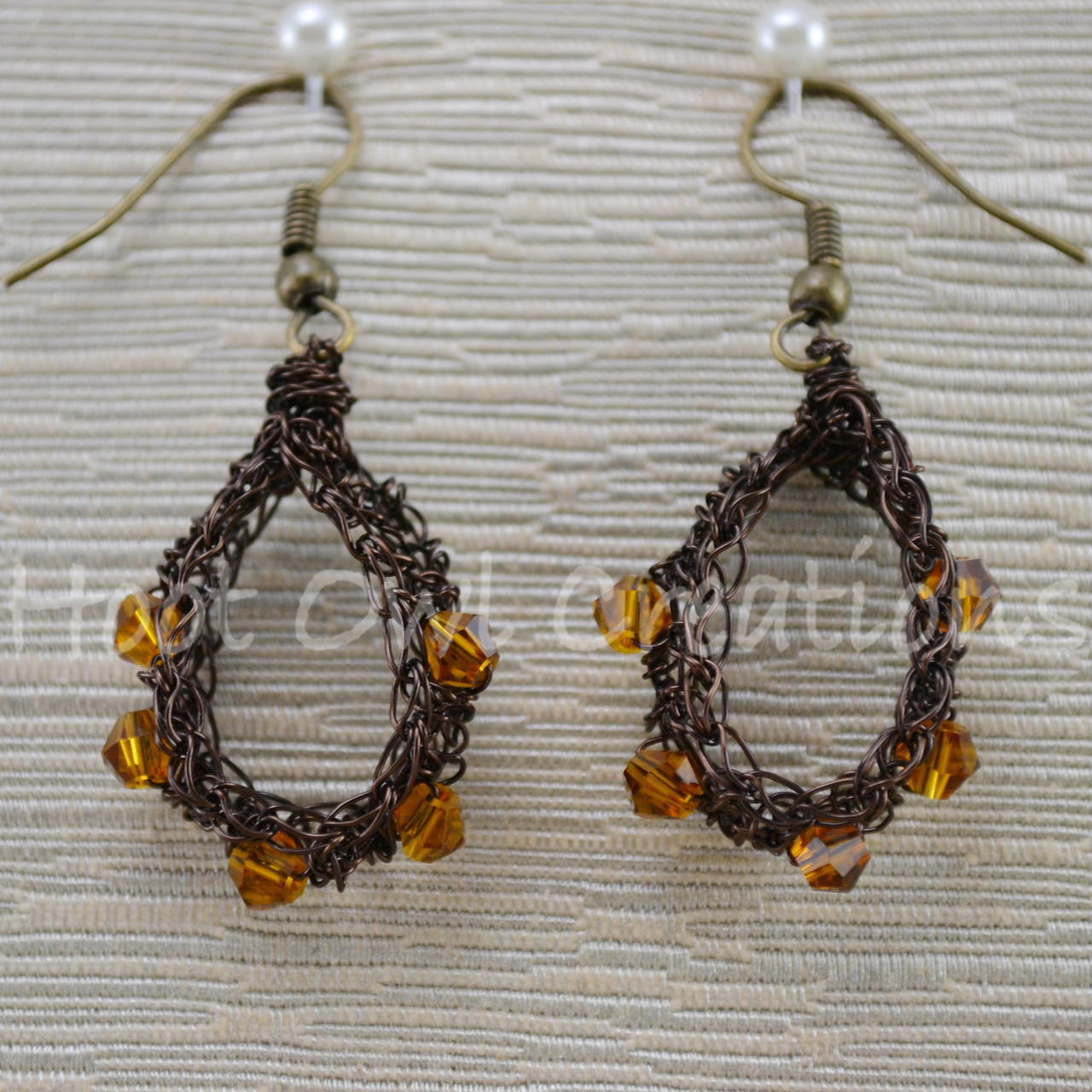 Wire Earrings - Page 1 - Hoot Owl Creations