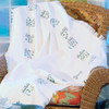 Alphabet Counted Cross Stitch Afghan