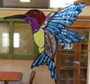 Hummingbird Window Cling