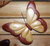 Intarsia Butterfly Tennessee Maple Wall Plaque