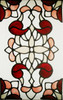 Burgundy & Rose Window Film Set