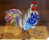 Potato Vegetable Storage Bin - Colorful Tail Rooster (B)