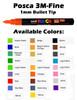 Posca Fine Point Paint Marker - PC-3M