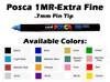 Posca Ultra Fine Paint Marker - PC-1MR