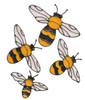 Bumble Bee Window Clings (5)