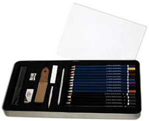 Deluxe Sketching Art Kit With Tin