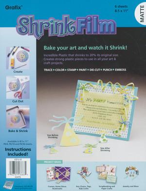 Grafix Shrink Film - Matte