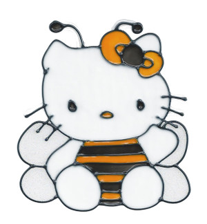 Hello Kitty Bumble Bee Window Cling