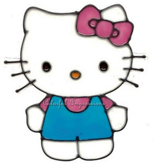 Hello Kitty Window Cling