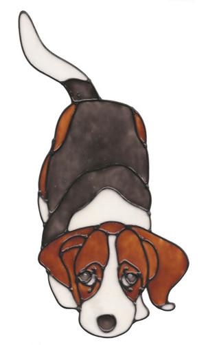 Beagle Window Cling