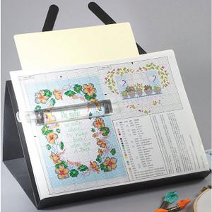 PROP-IT Magnetic Needlework Chart Holder W/Magnifier