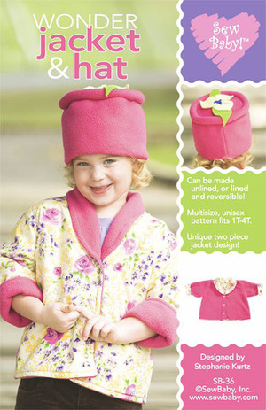 SewBaby! Wonder Jacket & Hat Pattern